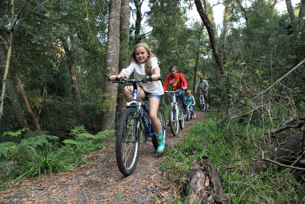 Bike trails and mountain bike tracks at Oakhurst Farm Cottages