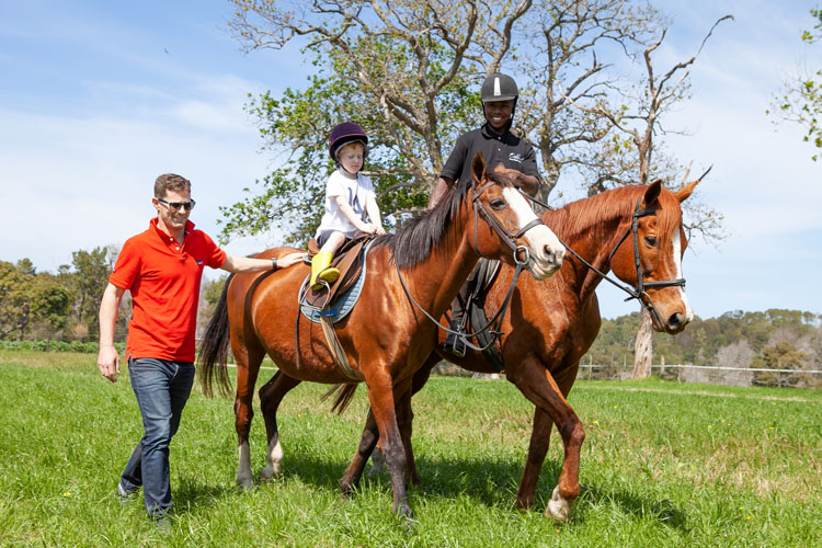 Horse riding trails at Oakhurst Farm Cottages